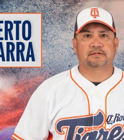 Nombran manager de Mexicali a Roberto Vizcarra