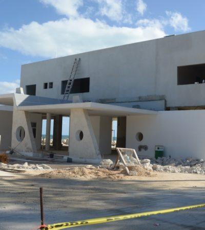 Después de 11 meses, reactivan construcción de la terminal marítima de Punta Sam; invertirán 31 mdp