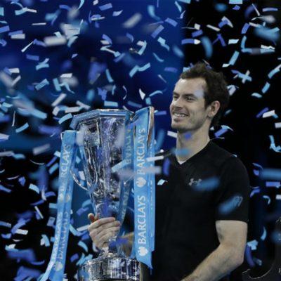 ANDY MURRAY SE GRADÚA: El británico vence a Djokovic y se corona por primera vez en el master de Londres