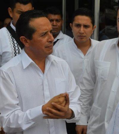 """EL GABINETE, """"BIEN"""", DICE CARLOS: Descarta Gobernador cambios y asegura que hay avances"""