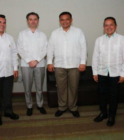 Firma Carlos Joaquín con gobernadores del Sureste el 'Acuerdo Mérida' para mejorar educación
