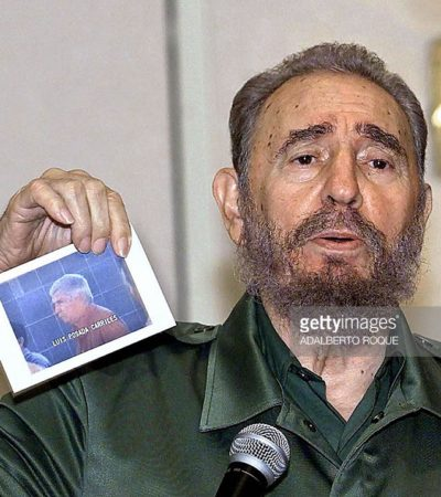 LA MANCHA DEL 'SANTRINA' EN LA HISTORIA DE QR: Cuando Isla Mujeres estuvo en el foco de Fidel Castro por el caso Posada Carriles