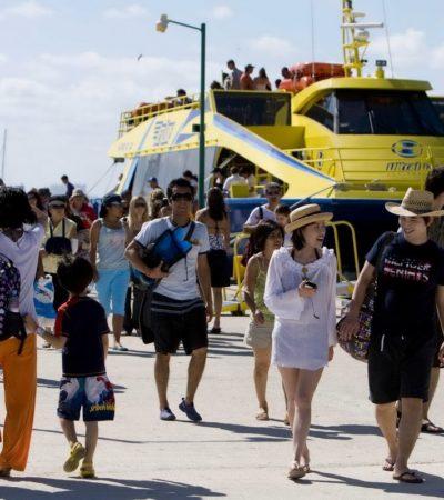 Multa Cofece con 45 mdp a navieras por coludirse para fijar precios y repartirse el mercado en la ruta Playa-Cozumel