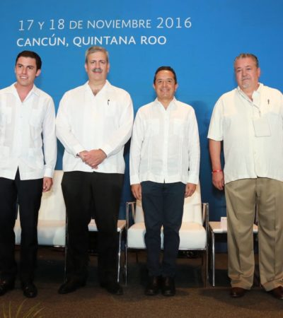 Arranca Gobernador en Cancún el Foro Internacional de Negocios del Gran Caribe