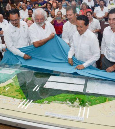 Presentan al Gobernador el proyecto del Parque Cancún ya con todos los permisos en regla