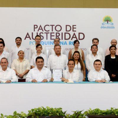 PACTAN RECORTES AL GASTO EN QR: Presentan 'Plan de Austeridad' para ahorrar 1,800 mdp cada año; no habrá más derroches, dice Carlos Joaquín