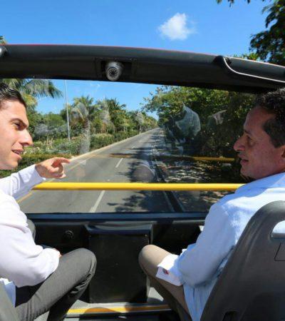 CONTRADICE GOBERNADOR AL ALCALDE 'VERDE': Admite Carlos Joaquín grave índice de violencia en QR aún; según Remberto, estamos mejor que en Yucatán