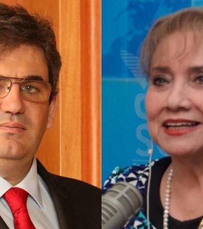 """POLÉMICA EN REDES: La política """"no es para conseguir chamba"""", le dice catedrático de la Uqroo a directora del SQCS; ventilan mensajes de Martha Silva"""