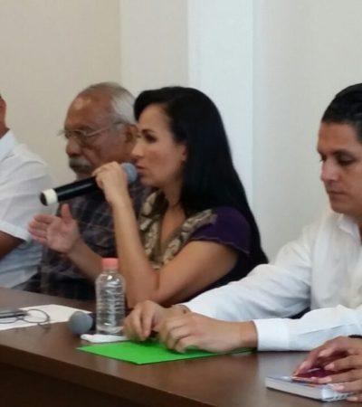 Se mantendrá el orden y la disciplina en Puerto Morelos, advierte Laura Fernández tras repeler a invasores de terrenos