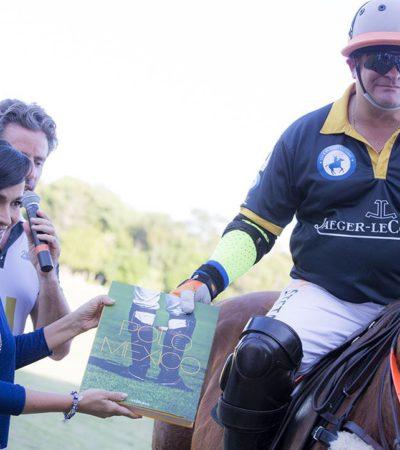 Realizan en Puerto Morelos Torneo Abierto de Polo del Caribe Mexicano