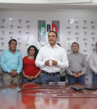 Anuncia PRI cambios en estructura e incorpora a 'villanuevistas'
