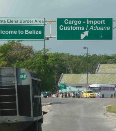 REFUERZAN VIGILANCIA EN LA FRONTERA MÉXICO-BELICE: Cárteles mexicanos y hondureños buscan ampliar sus operaciones de tráfico de drogas, armas y personas