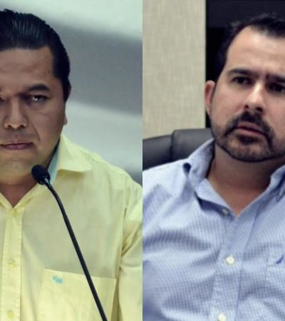 Magistrados del Teqroo son parciales, dice Jorge Aguilar tras ratificar a Emiliano Ramos como líder del PRD