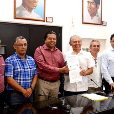 VAN AL CONGRESO POR SU DINERITO: Recibe XV Legislatura proyectos presupuestales para el 2017