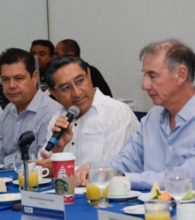 REUNIÓN CON EL CCE: Dice Juan Vergara que ahorro por refinanciamiento será para atender desigualdades