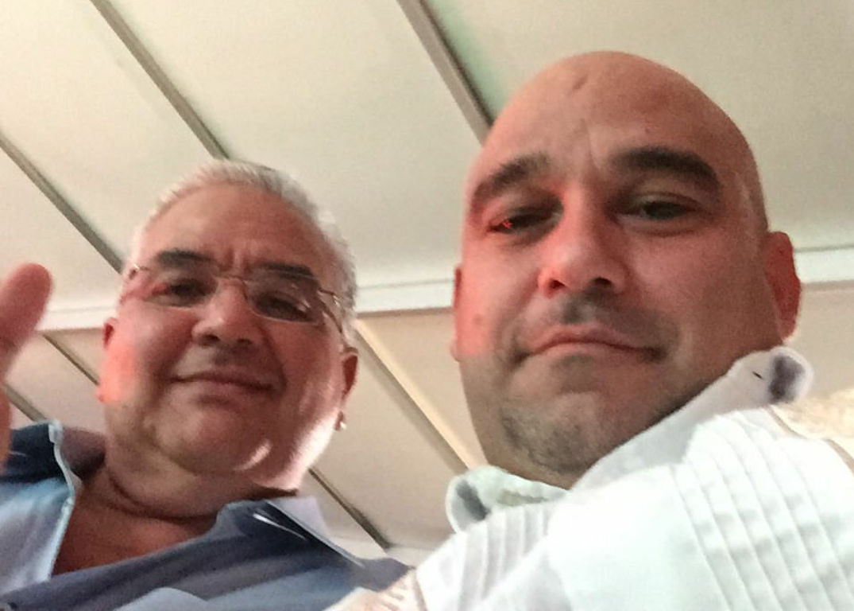 David Romero Vara y Heriberto Millar, del diario Respuesta.