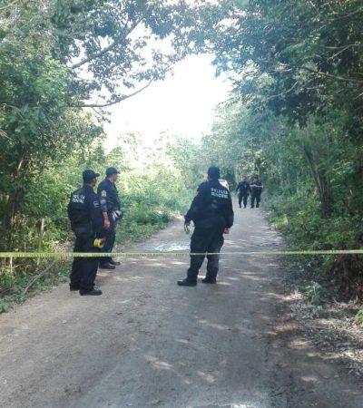 HALLAN OSAMENTA EN CANCÚN: Encuentran restos de una persona que estaba encintada de la cabeza por la zona del Arco Vial