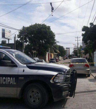 INSEGURIDAD EN CANCÚN: Sorprende a ladrones en su casa en la Región 100 y termina hospitalizado