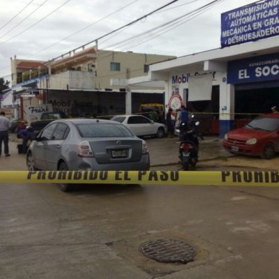 EJECUTAN A 'EL PROFE FRANK' EN PLAYA: Un hombre dispara contra el dueño de taller mecánico en la Constituyentes