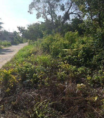 AMANECE CANCÚN CON OTRO EJECUTADO: Hallan en la colonia Betel el cadáver de un hombre con narcomensaje, el caso 52 del año