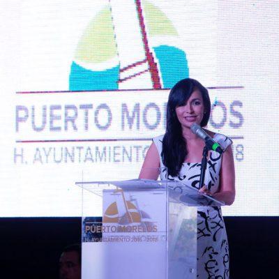 Puerto Morelos, llamado a ser ejemplo nacional e internacional, asegura Laura Fernández