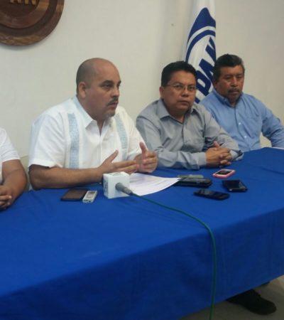 PACTAN UNIDAD EN EL PAN: Anuncian Juan Carlos Pallares y Mario Rivero Leal fórmula para renovar la dirigencia del albiazul en QR