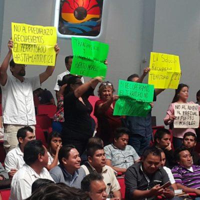 Avalan diputados ajustes a tablas de valores catastrales para Puerto Morelos
