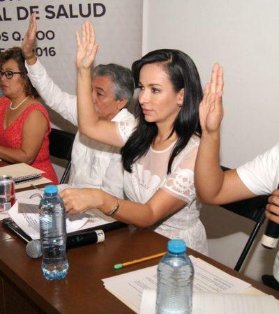 Instala Laura Fernández Comité Municipal de Salud en Puerto Morelos