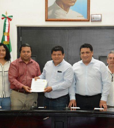 VAN POR PRESUPUESTO DE 744 MDP: Entrega Luis Torres al Congreso Ley de Ingresos de OPB