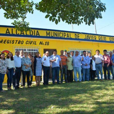 Reinauguran oficinas del Registro Civil en 'Javier Rojo Gómez'
