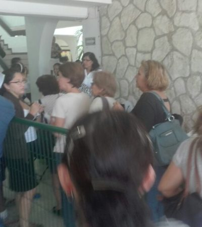 """""""VAYAN AL OXXO POR UN CAFÉ"""": Caos en el arranque del programa del pago anticipado del predial en Cancún"""