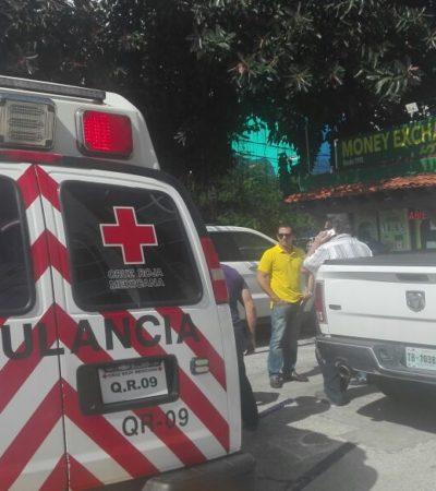 INSEGURIDAD EN CANCÚN: Un herido en un robo a céntrica casa de cambio en la SM 3