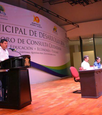 Inician los Foros de Consulta Ciudadana para integrar Plan de Desarrollo de OPB