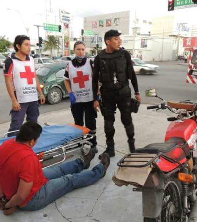 Cambian de área a policías implicados en agresión a fotógrafo en Cancún