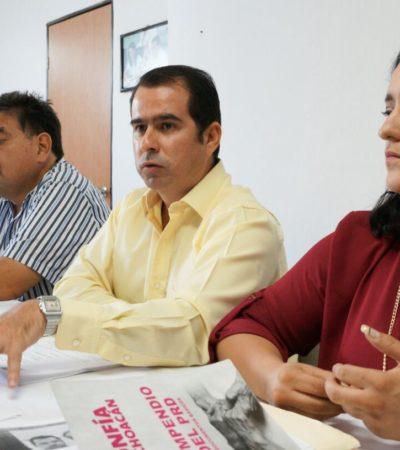 SIGUE CONFLICTO EN EL PRD: Dice Jorge Carlos Aguilar Osorio que permanece al frente del Sol Azteca porque no le han notificado sobre su remoción
