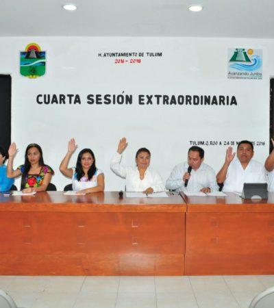 Alistan elección de delegados y subdelegados en comunidades de Tulum