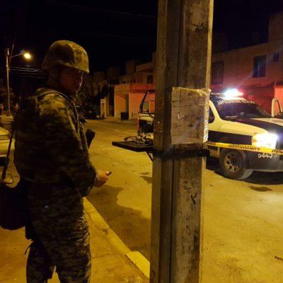 NOCHE DE BALAZOS EN LA REGIÓN 521: Reportan 2 vehículos y una vivienda tiroteados en Cancún, pero no hay heridos