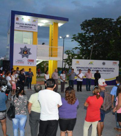 Entra en operación quinta caseta de policía del nuevo gobierno en Chetumal
