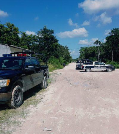 DOBLE ASESINATO EN CANCÚN: A machetazos, matan a 2 veracruzanos en la colonia irregular Tres Reyes