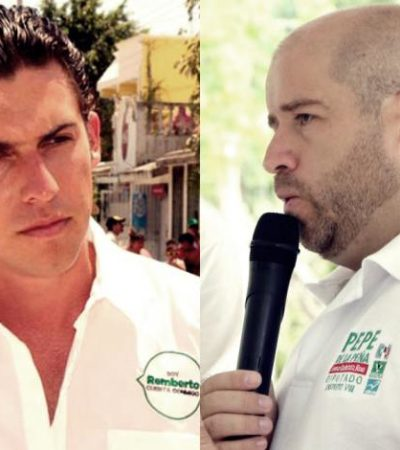 ¿CRISIS 'VERDE' EN CANCÚN?: Trasciende 'distanciamientos' entre Alcalde y líder de diputados del PVEM
