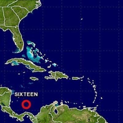 LA TEMPORADA AÚN NO TERMINA: Frente a la costa nicaragüense, se forma décimosexta depresión tropical del Atlántico