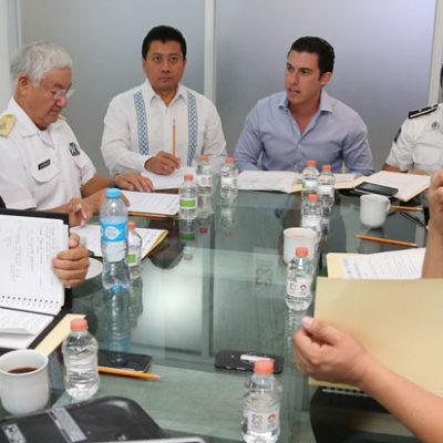 Ante la creciente inseguridad en Cancún, realizan autoridades de todos los niveles reunión de 'inteligencia' en el C-2