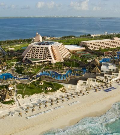 Se ahoga turista en playa del hotel Gran Oasis Cancún