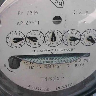 Ante variación de las tarifas eléctricas, a cuidar el consumo, advierte CFE a usuarios