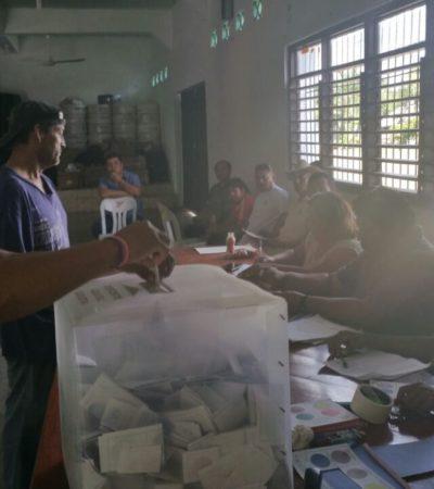 Renuevan a sus delegados en 13 comunidades rurales de Othón P. Blanco