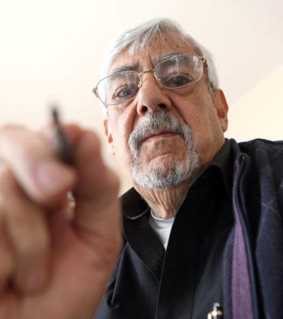 DA LA PARCA RESPIRO A LOS PODEROSOS: A los 79 años, muere el cartonista Rogelio Naranjo, crítico sin concesiones de políticos