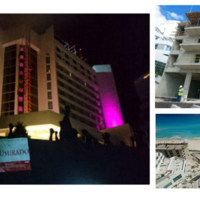 CLASURAN OBRAS DE POLÉMICO HOTEL: Por falta de permisos, frena Profepa ampliación del Hotel Me del Grupo Meliá en Cancún