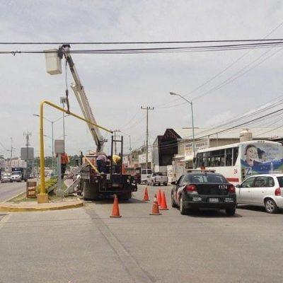 Analizan la necesidad de instalar más semáforos en Chetumal; exigirán examen de manejo para expedir licencias