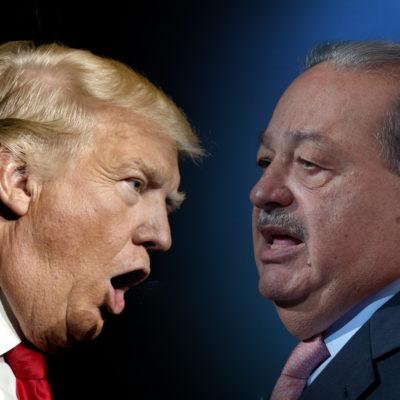 PEGA TRUMP A CARLOS SLIM: El multimillonario mexicano pierde 5.1 mil mdd tras el triunfo del republicano