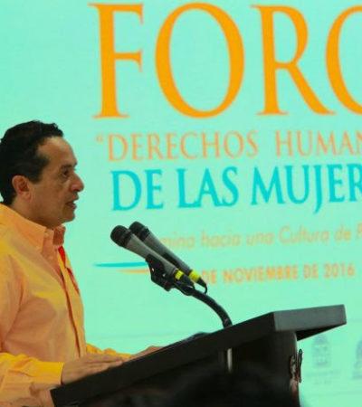 Reclama Carlos a la Fiscalía y al Poder Judicial que atiendan casos de violencia contra la mujer
